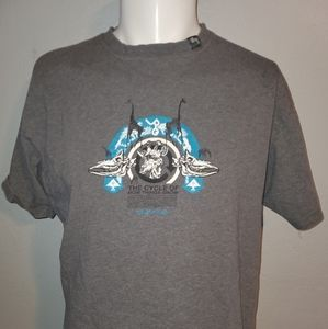 LRG Grey Clasic Logo Shirt Large Excellent Cond
